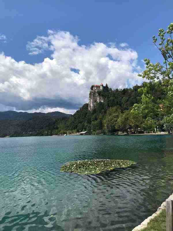 Take a walk around the beauftiful lake Bled, in Bled Slovenia